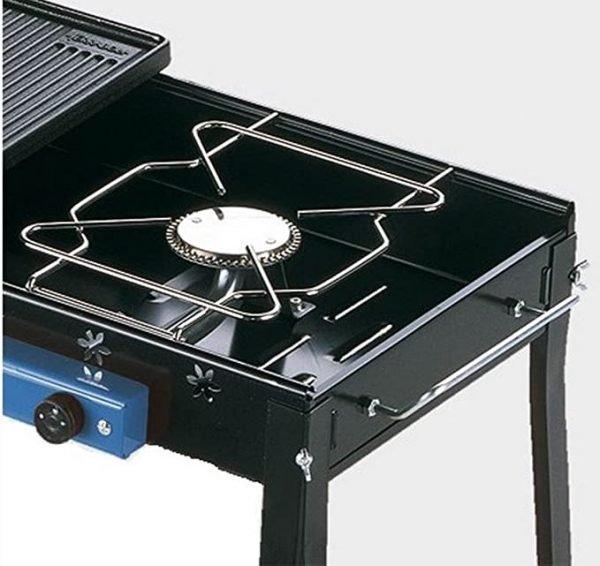 Barbecue FERRABOLI con piastra in ghisa e 1 fornello